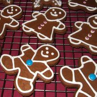 Boys And Girls Made with gingerbread