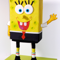 Sponge Bob Square Pants This is my first 3D kind of cake : ) I used PVC pipes, Flanges etc. for the first time and it was a great new experience. Body is sheet...