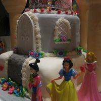 Close Up Of Castle Cake