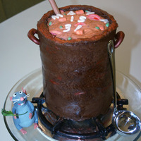 Remy's Revenge--My First Cake Disaster