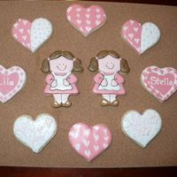 Happy Valentine's Day NFSC with royal icing