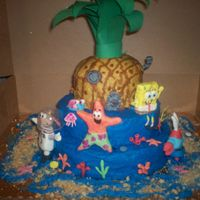Bikini Bottom This was for my 3 year old. It took forever but it was worth it. She squealed when she saw it.
