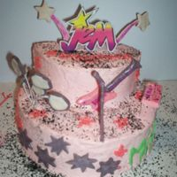 Jem And The Holograms My friend loved Jem when she was little so I tried to bring some old school back!