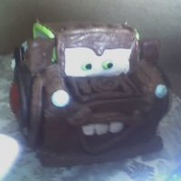 Mater!   Mater from Disney's Cars movie. Mostly buttercream with a few fondant accents