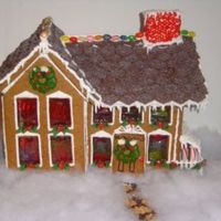 Our Gingerbread House This was a science project for school. The kids helped make the gingerbread then wrote about the chemical reaction of baking soda and...