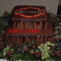 Harley Davidson Groom's Cake  This cake is modeled after a lot of other groom's cakes that I've seen and loved (thanks to all of you who have made one like...