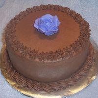 Banana Cake With Chocolate Buttercream Icing My SIL's birthday was last week and I remember her telling me that she used to have a banana cake with chocolate icing every year....