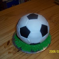 Soccer Cake For Son's 10Th Bday