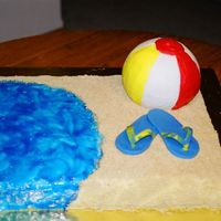 End Of Summer Beach Birthday This is a pic of a cake that has been on my camera since last summer, just now got around to getting that roll put on a disc. This cake was...