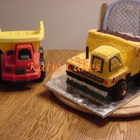 Dump Truck Birthday Cake I just made this last night for my son's 2nd birthday. I don't really like the proportions, but now that I've done it once I...