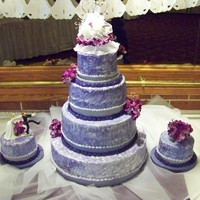 Lori's Wedding Cake