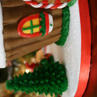 Cupcake Gingerbread House