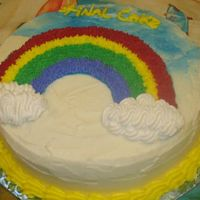 Course 1 Final Rainbow Cake this is my final cake from course 1.