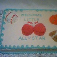 Baby All Star This was for a baby shower for my sis in law's son and his girlfriend.