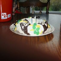 "Monkey Cake My very first ""special"" cake. It didn't quite turned out like the picture in the magazine, but it was enough to start to get..."