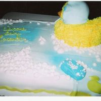 Another View From Bubble Bath Baby Duck Cake