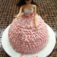 Pretty In Pink Doll Cake