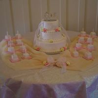 Sweet 16 Princess Theme Her mom wanted it to be like Cinderella, brought me a picture of the cake she wanted. Last minute, her daughter wanted candles. We didn&#...