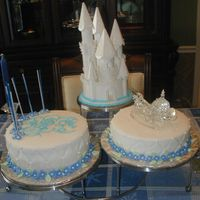 Cinderella's Castle This was the cake my mother did for my daughter 6th birthday. Wait I know this is way too much for a six year old, I agree. But her...