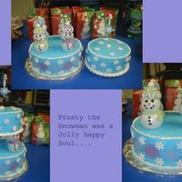 Frosty, Franky, Freddy, & Fritz The Snowmen This cake was a huge hit at my kids school! Since both of my girls are in school it has become more of a challenge to get both of them...