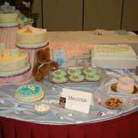 Baby Shower Theme Contest This is a contest I did, we had 3 hours to do all of the cakes. Most are styrofoam decorated in buttercream.