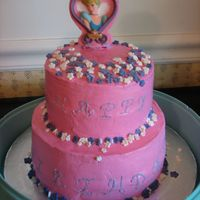 Girly Princess Cake