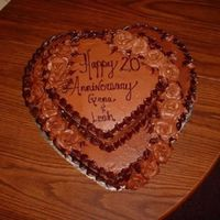 Chocolate Anniversary Cake   This cake is pure chocolate bliss inside and out.