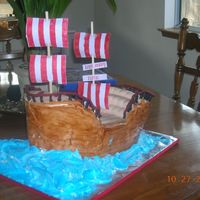 Keaton's Pirate Ship #2 Another view of pirate ship