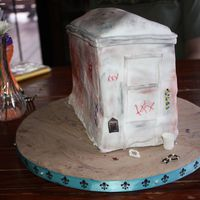 Marie Laveau's Tomb - My Birthday Cake The cake I made for my birthday. I'm a love New Orleans and wanted to finally make my own b'day cake. Fondant (SI) w/ RI '...
