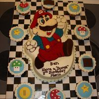 Super Mario This was for an 8 yr old's birthday.