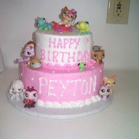 Littlest Pet Shop My daughter wanted a Littlest Pet Shop cake for her birthday but since Mommy's modeling skills aren't quite on the level where I...
