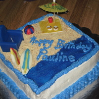 Beach Cake one of my favs to make