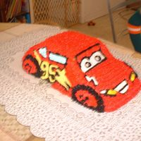 Lightening Mcqueen From The Movie Cars