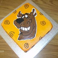 Scooby Doo All buttercream with FBCT Scooby.