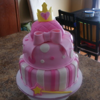 Princess First Birthday