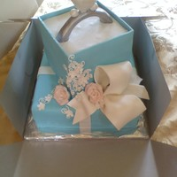 Tiffany Ii Fondant ring, bow and flowers