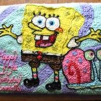 Daughter's 10Th Birthday Cake Birthday cake I did freehand for my daughter's 10th birthday. For 2 years straight I had to do Spongebob because I always let her pick...
