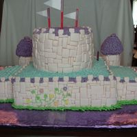 Back View Back of the cake