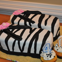 40Th Birthday Flip Flop Cake  I made this cake for one of my friend's 40th birthday this past weekend. Cake was triple chocolate and WASC mixed layers with...