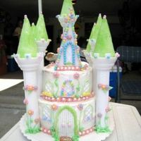 Sams_4Th_Bday_Cake.jpg Princess castle cake for my daughter's 4th birthday.
