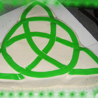 Religious Symbol Still not sure what means. I wish I had done the fondant different. Thanks for looking!!!
