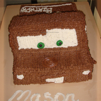 Mater My very simple Mater cake. Eventhough it was simple, the child loved it, and that really made my day!!! This cake one cake that I did a...