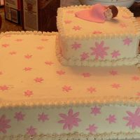 Cake_13_14_009.jpg   this cake was made for my cousins daughters christening. choclate with bc icing