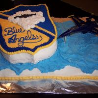 Blue Angels #2 Another view of the cake!