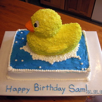 Sam's First Birthday Cake
