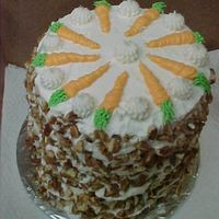 10 Inch Tall Carrot Cake I made this very tall carrot cake for a dear friend.