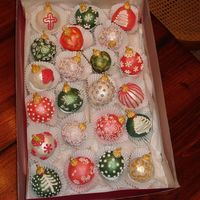 Christmas Ornament Cake Balls