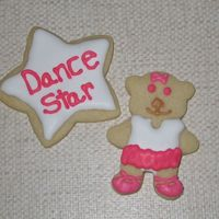 Ballerina Bear Did these for my daughters dance class. The big recital is this weekend.