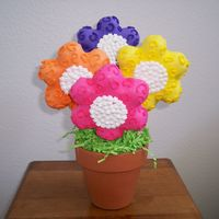 100_0485.jpg My first cookie bouquet. It sold like hotcakes at a bake sale. I was very proud of my self. If only I could get my cakes to look as good as...