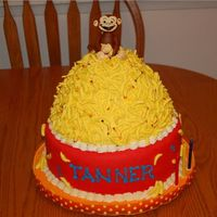 Curious George Three year old birthday cake, idea was from another cc member. Another one I has to try out! So many great cakes on here they make me want...